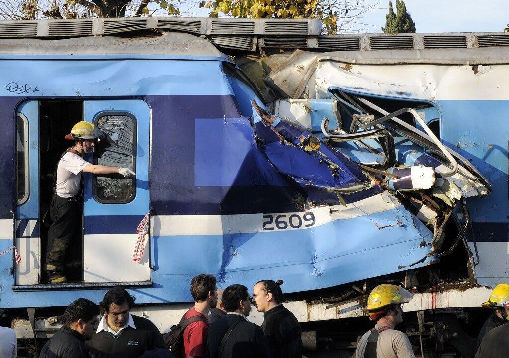 Accidentes en la línea de tren Sarmiento de Buenos Aires