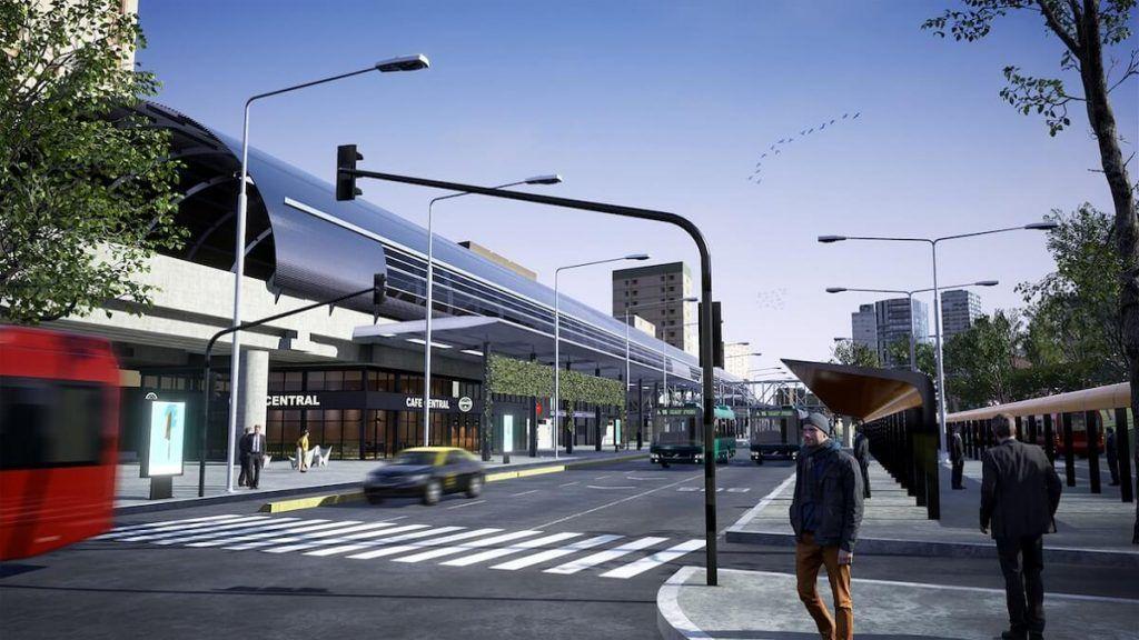 Nueva estación Belgrano C del Tren Mitre