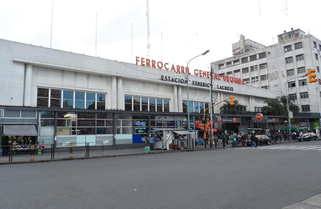 Estación Federico Lacroze cabecera de la línea Urquiza