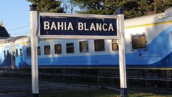 Estación de tren en Bahía Blanca