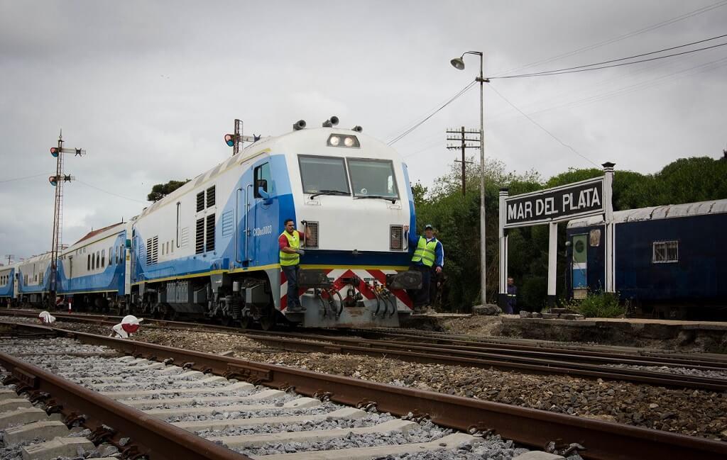 Estación de trenes de Mar del Plata