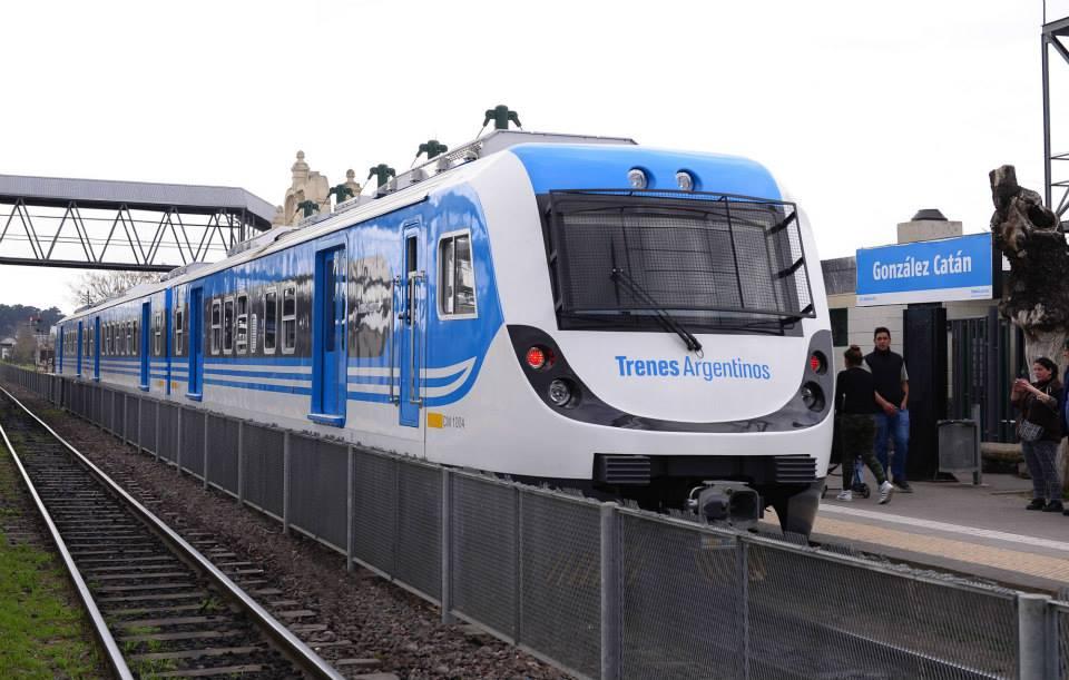 Nuevo tren Belgrano Sur