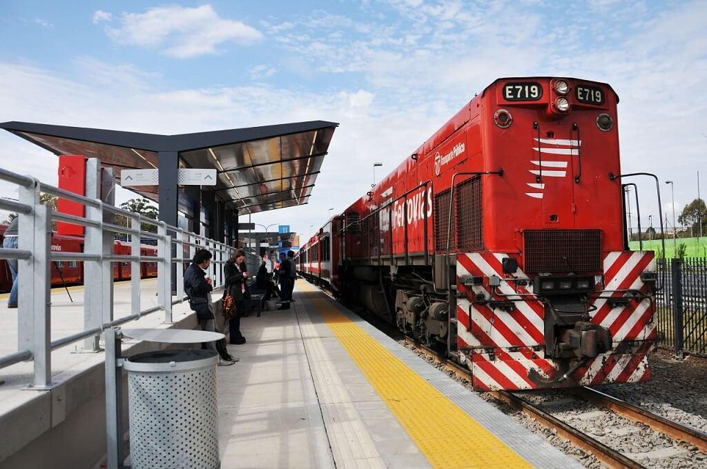 Tren Belgrano de Buenos Aires