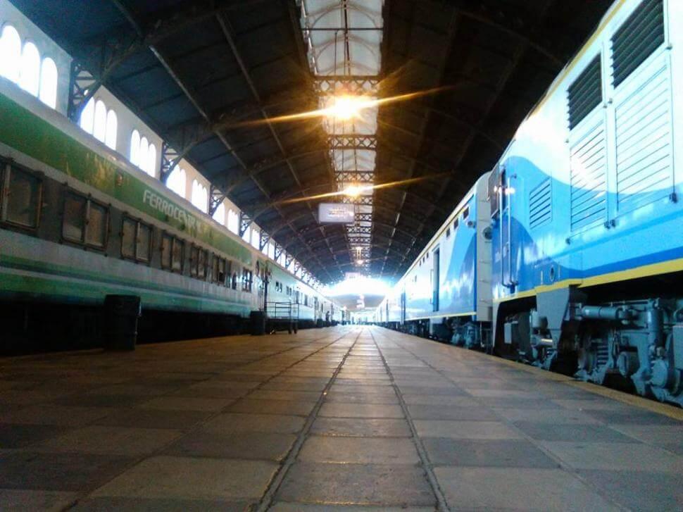 Tren a Tucumán: antes y después