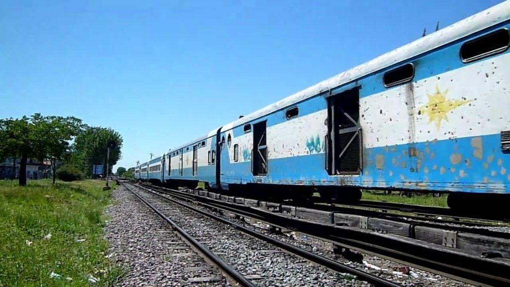 Abandono del tren a Posadas
