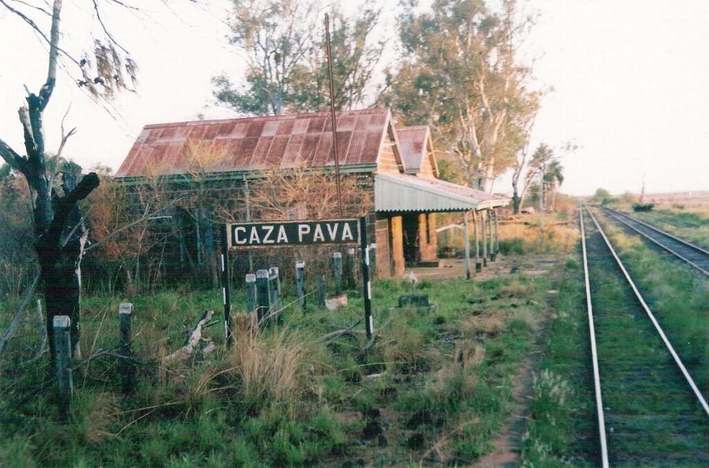 Estación Caza Pava en Corrientes, parte del recorrido de El Gran Capitán