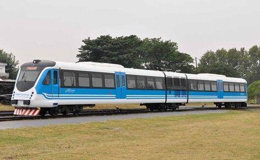 Vista del tren que une Salta Capital con General Guemes